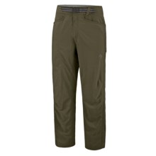 Mountain Hardwear Mesa Backpacking Pants - UPF 50 (For Men) in Caper - Closeouts