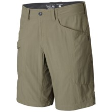 Mountain Hardwear Mesa V2 Shorts - UPF 50 (For Men) in Stone Green - Closeouts