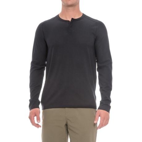 Mountain Hardwear MHW AC Henley Shirt - Long Sleeve (For Men)