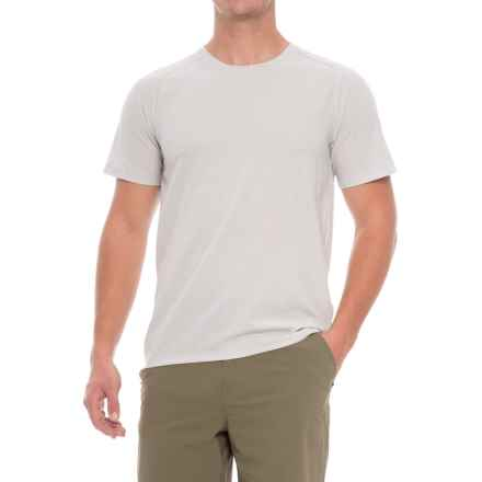 Mountain Hardwear MHW AC T-Shirt - Short Sleeve (For Men) in Grey Ice - Closeouts