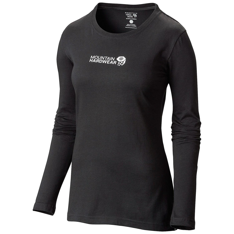 Mountain hardwear mhw graphic t shirt cotton jersey for Mountain long sleeve t shirts