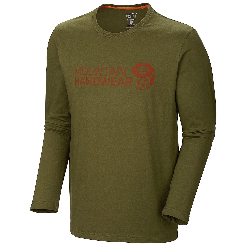 Mountain hardwear mhw graphic t shirt long sleeve for men for Mountain long sleeve t shirts