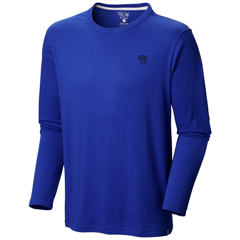 Mountain hardwear mhw logo t shirt for men for Mountain long sleeve t shirts