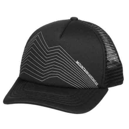 Mountain Hardwear MHW Trucker Hat (For Men and Women) in Black/Reflective - Closeouts