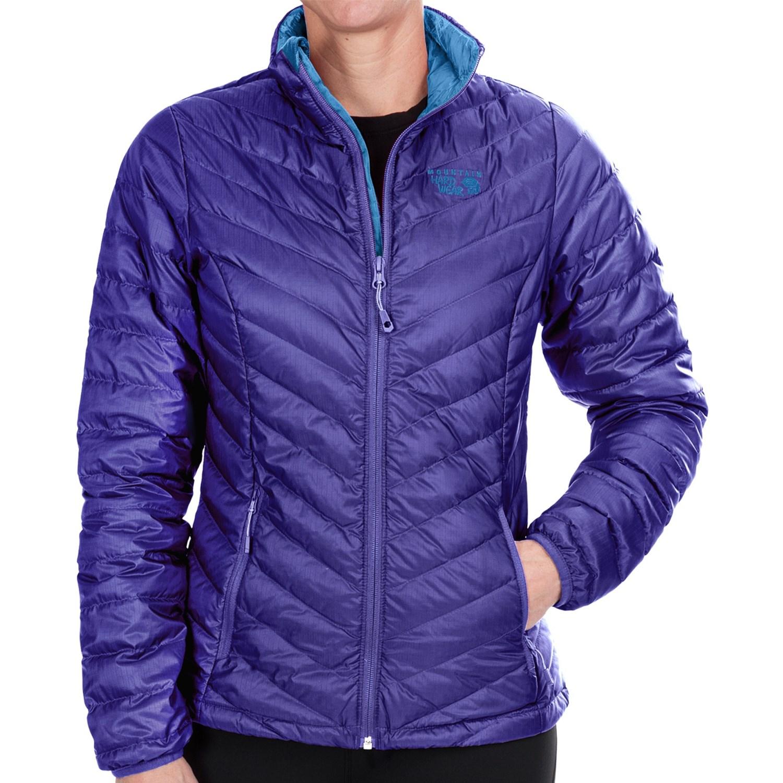 Mountain Hardwear Micratio Down Jacket - 550 Fill Power (For Women) in Nectar Blue