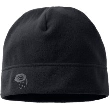 Mountain Hardwear Micro Dome Beanie Hat - Fleece (For Men) in Black - Closeouts