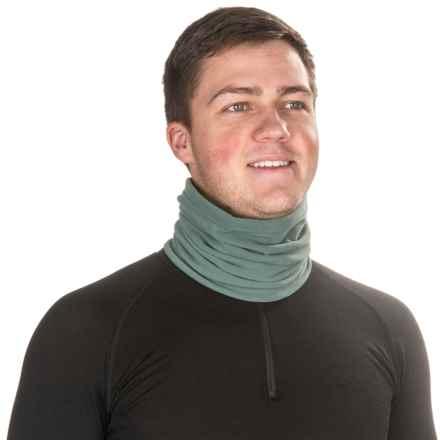 Mountain Hardwear Micro Neck Gaiter - Fleece (For Men) in Thunderhead Grey - Closeouts