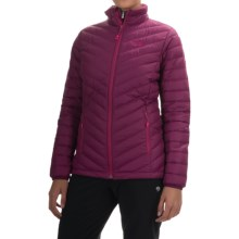 Mountain Hardwear Micro Ratio Down Jacket - 650 Fill Power (For Women) in Dark Raspberry - Closeouts