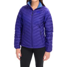 Mountain Hardwear Micro Ratio Down Jacket - 650 Fill Power (For Women) in Nectar Blue - Closeouts