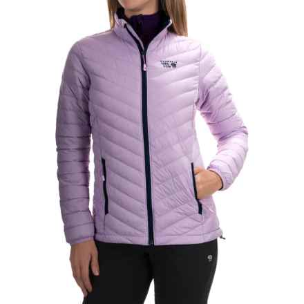 Mountain Hardwear Micro Ratio Down Jacket - 650 Fill Power (For Women) in Phantom Purple/Zinc - Closeouts