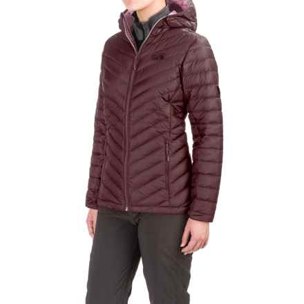 Mountain Hardwear Micro Ratio Down Jacket - 650 Fill Power (For Women) in Purple Plum/Marionberry - Closeouts
