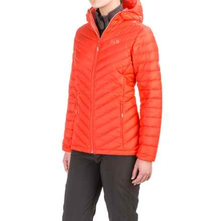 Mountain Hardwear Micro Ratio Down Jacket - 650 Fill Power (For Women) in Scarlet Red - Closeouts