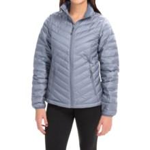 Mountain Hardwear Micro Ratio Down Jacket - 650 Fill Power (For Women) in Tradewinds Grey - Closeouts