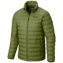 Mountain Hardwear Micro Ratio Q.Shield® Down Jacket - 650 Fill Power (For Men) in Amphibian - Closeouts