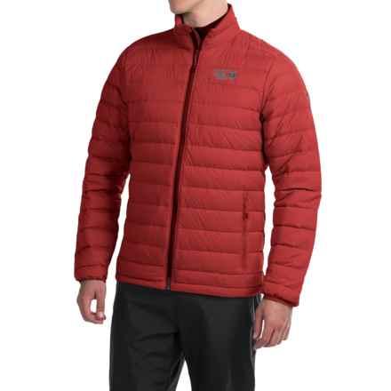 Mountain Hardwear Micro Ratio Q.Shield® Down Jacket - 650 Fill Power (For Men) in Dark Fire - Closeouts