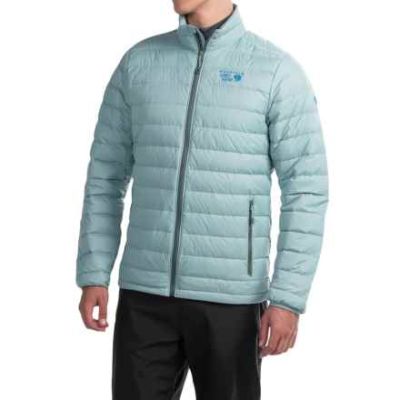 Mountain Hardwear Micro Ratio Q.Shield® Down Jacket - 650 Fill Power (For Men) in Ice Shadow - Closeouts