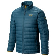 Mountain Hardwear Micro Ratio Q.Shield® Down Jacket - 650 Fill Power (For Men) in Phoenix Blue/Underbrush - Closeouts