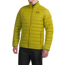 Mountain Hardwear Micro Ratio Q.Shield® Down Jacket - 650 Fill Power (For Men) in Python Green - Closeouts
