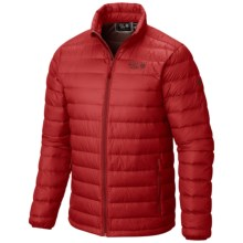 Mountain Hardwear Micro Ratio Q.Shield® Down Jacket - 650 Fill Power (For Men) in Smolder Red - Closeouts