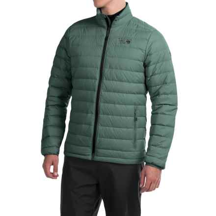 Mountain Hardwear Micro Ratio Q.Shield® Down Jacket - 650 Fill Power (For Men) in Thunderhead Grey - Closeouts