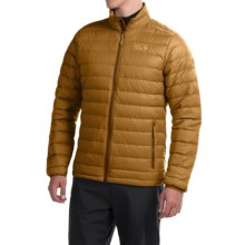 Mountain Hardwear Micro Ratio Q.Shield® Down Jacket - 650 Fill Power (For Men) in Underbrush - Closeouts