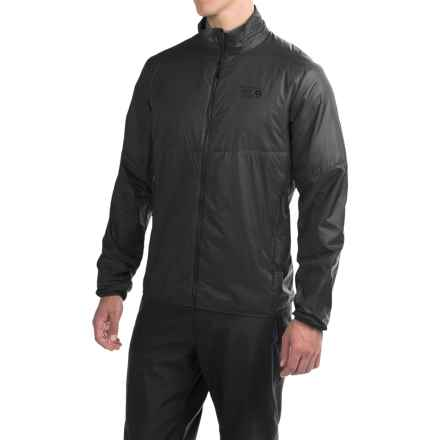 Mountain Hardwear Micro Thermostatic Hybrid Jacket - Insulated (For Men) in Black - Closeouts