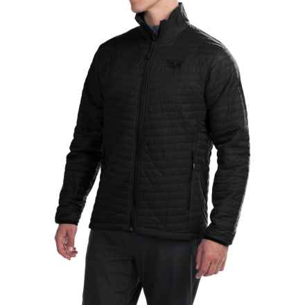 Mountain Hardwear Micro Thermostatic Jacket - Insulated (For Men) in Black - Closeouts