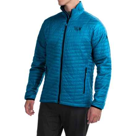 Mountain Hardwear Micro Thermostatic Jacket - Insulated (For Men) in Dark Compass - Closeouts