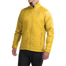 Mountain Hardwear Micro Thermostatic Jacket - Insulated (For Men) in Electron Yellow - Closeouts