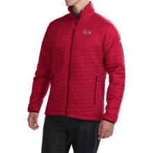 Mountain Hardwear Micro Thermostatic Jacket - Insulated (For Men) in Rocket - Closeouts