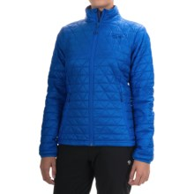 Mountain Hardwear Micro Thermostatic Jacket - Insulated (For Women) in Bright Island Blue - Closeouts