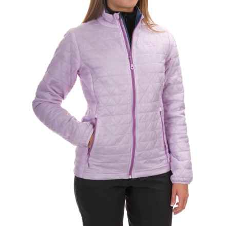 Mountain Hardwear Micro Thermostatic Jacket - Insulated (For Women) in Phantom Purple/Zinc - Closeouts