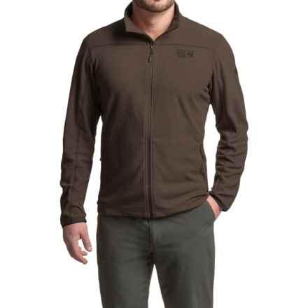 Mountain Hardwear MicroChill 2.0 Fleece Jacket - UPF 50 (For Men) in Midnight Brown - Closeouts