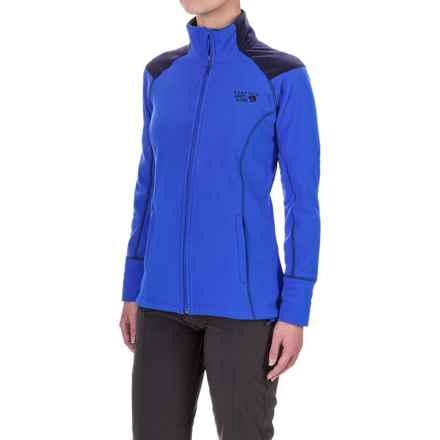 Mountain Hardwear MicroChill 2.0 Fleece Jacket - UPF 50 (For Women) in Bright Island Blue - Closeouts