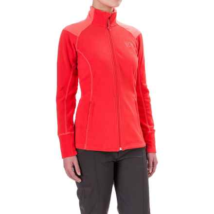 Mountain Hardwear MicroChill 2.0 Fleece Jacket - UPF 50 (For Women) in Scarlet Red - Closeouts