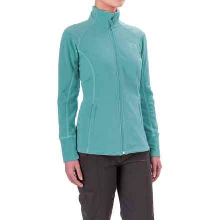 Mountain Hardwear MicroChill 2.0 Fleece Jacket - UPF 50 (For Women) in Spruce Blue - Closeouts