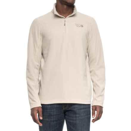 Mountain Hardwear MicroChill 2.0 Fleece Shirt - UPF 50, Zip Neck, Long Sleeve (For Men) in Sandblast - Closeouts
