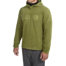 Mountain Hardwear Microchill Fleece Hoodie - UPF 50 (For Men) in Amphibian - Closeouts
