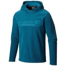 Mountain Hardwear Microchill Fleece Hoodie - UPF 50 (For Men) in Phoenix Blue - Closeouts