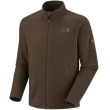 Mountain Hardwear Microchill Fleece Jacket (For Men) in Cordovan - Closeouts