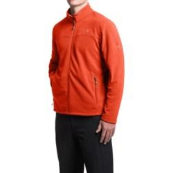 Mountain Hardwear Microchill Fleece Jacket (For Men) in Flame