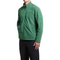 Mountain Hardwear Microchill Fleece Jacket (For Men) in Forest