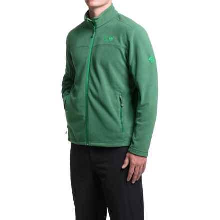 Mountain Hardwear Microchill Fleece Jacket (For Men) in Forest - Closeouts