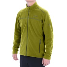 Mountain Hardwear Microchill Fleece Jacket (For Men) in Python Green - Closeouts