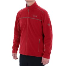 Mountain Hardwear Microchill Fleece Jacket (For Men) in Rocket - Closeouts