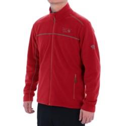 Mountain Hardwear Microchill Fleece Jacket (For Men) in Rocket