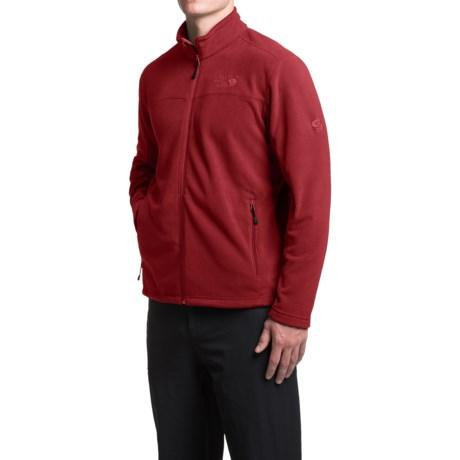 Mountain Hardwear Microchill Fleece Jacket (For Men) in Smolder Red