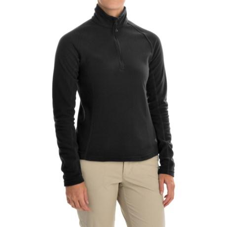 Mountain Hardwear Microchill Fleece Pullover Jacket - Zip Neck, Long Sleeve (For Women)