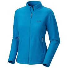 Mountain Hardwear Microchill Jacket - Fleece (For Women) in Bay Blue - Closeouts