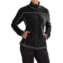 Mountain Hardwear Microchill Jacket - Fleece (For Women) in Black - Closeouts